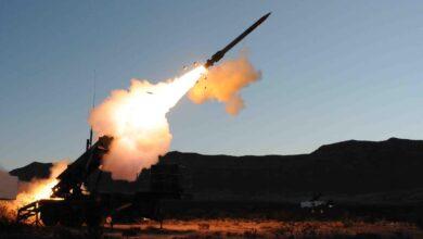 صورة استهداف مركز تجسس للموساد شمال العراق