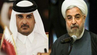 صورة روحاني لأمير قطر: عسكرة المنطقة لن تساعد على حل مشكلاتها.. حل الأزمات في الإقليم يكون عبر الحوار