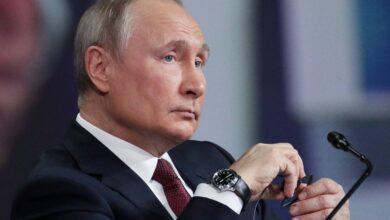صورة فلاديمير بوتين: العلاقات الامريكية الروسية في أدنى مستوياتها