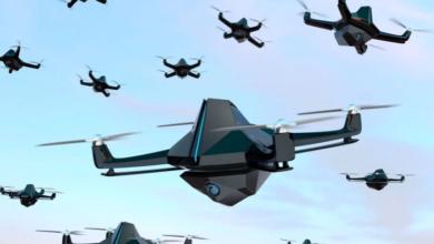 صورة لا تخضع لتوجيهات البشر شبكة طائرات مسيرة استخدمتها إسرائيل في حرب غزة