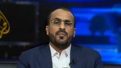 صورة جماعة الحوثي : المبعوث الأممي الجديد لليمن ليس بيده شيء ولا جدوى من لقائه