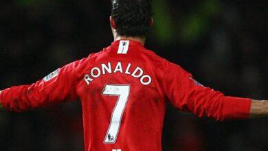صورة رسمياً النجم البرتغالي كريستيانو رونالدو يعود لمانشستر يونايتد الإنجليزي