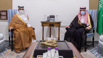 صورة سلم سفير قطر لدى السعودية أوراق اعتماده للخارجية السعوديةلأول مرة منذ العام2017