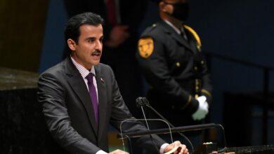 """صورة أمير قطرالشيخ تميم بن حمد آل ثاني """"إعلان العلا"""" تجسيد لحل الخلافات بالتعاون"""