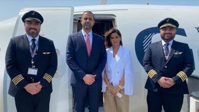 صورة سفير البحرين في إسرائيل لتسلم مهامه وكتابة سطر جديد في صفحات التطبيع