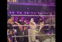 """صورة 4 سعوديات على حلبة مصارعة """"WWE"""".. ما القصة؟"""