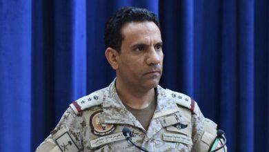 صورة المتحدث باسم التحالف العربي تركي المالكي  يعلن تنفيذ عملية عسكرية في صنعاء
