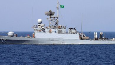 صورة قوات سعودية تصل باكستان لإجراء مناورات بحرية مشتركة