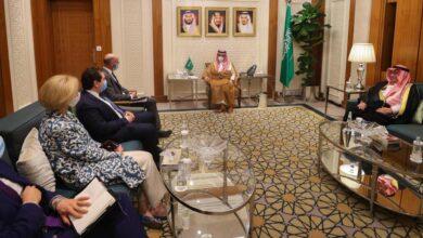 صورة مباحثات سعودية أمريكية حول الملف النووي الإيراني