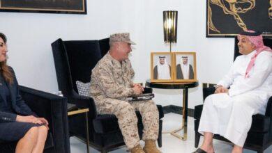 صورة مباحثات عسكرية أمريكية قطرية لتعزيز التعاون الدفاعي